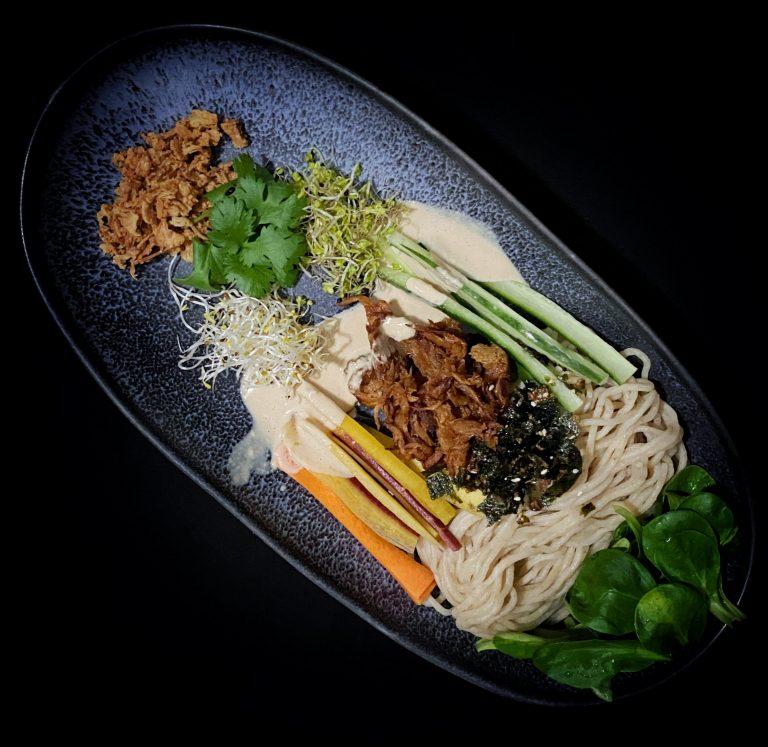 Fresh Ramen Salad The Gooks Vegan Asian Food