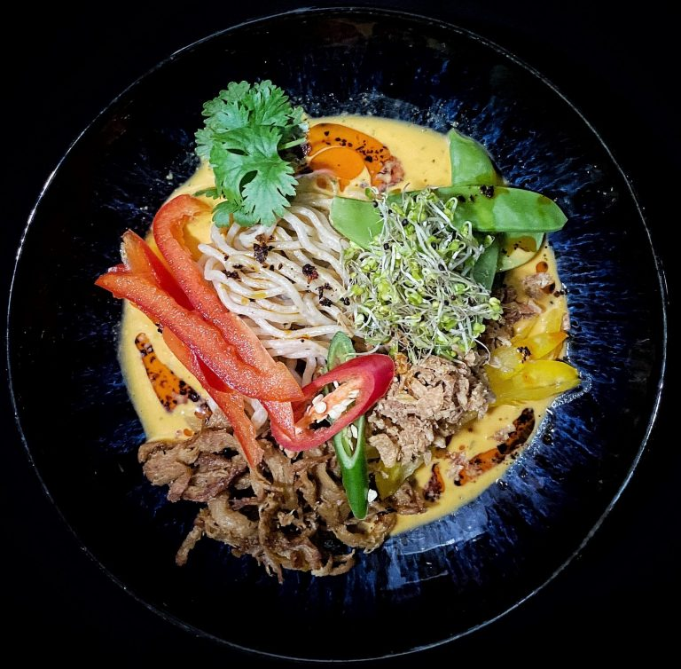 Red Chili Ramen The Gooks Vegan Asian Food